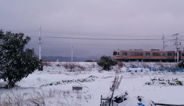 1月20日岡崎積雪