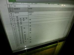 バス専用道最終日7