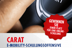 Flyer CARAT E-Mobility Schulung