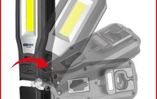 KS Tools knickbare LED Handlampe