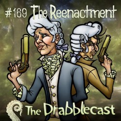 Cover for Drabblecast episode 169, The Reenactment, by Bo Kaier