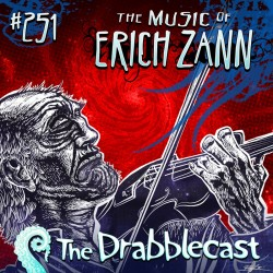Cover for Drabblecast episode 251, The Music of Erich Zann, by Bill Halliar