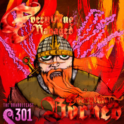Cover for Drabblecast episode 301, Everything Ravaged Everything Burned, by Brent Holmes