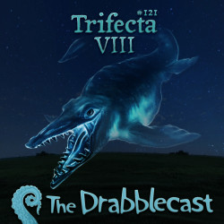 Cover for Drabblecast 121, Trifecta VIII, by Bo Kaier