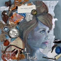 Cover for Drabblecast B-Sides 49, Trash, by Jan Dennison