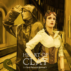 Drabblecast Cover by Bo Kaier for Heart of Clay