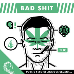 Drabblecast cover for Bad Shit by Declan J. Keane