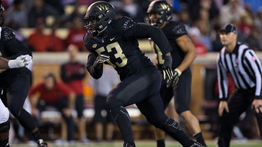 Duke Ejiofor, DE, Wake Forest