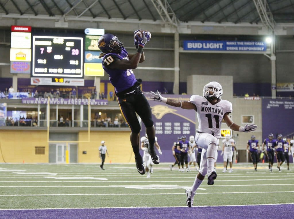 Daurice Fountain, WR, Northern Iowa