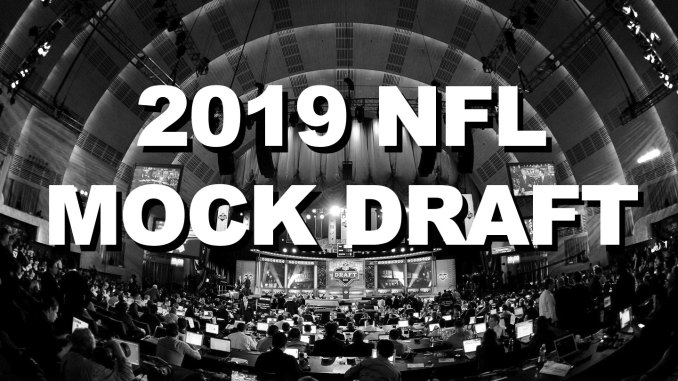2019 NFL Mock Draft