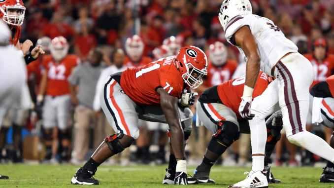 Andrew Thomas 2020 NFL Mock Draft