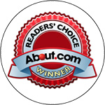 """About.com Readers Choice Award for """"Best NFL Draft Web Site"""""""