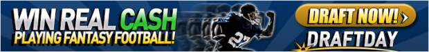 DraftDay NFL Week 3 Offer: Enter the $3,000 Drive and get a free entry to the $5k Grand Slam on Sep. 30th 5
