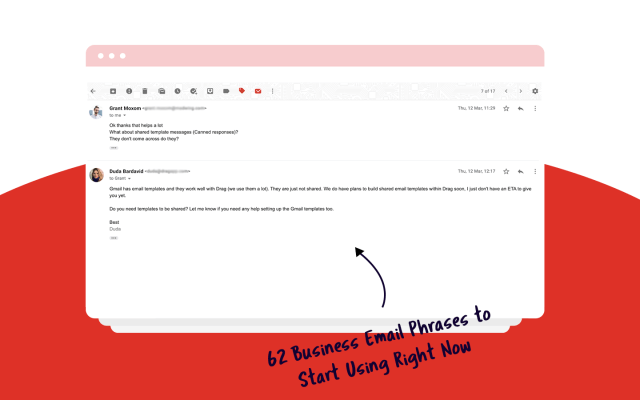 13 Business Email Phrases to Start Using Right Now  DragApp.com