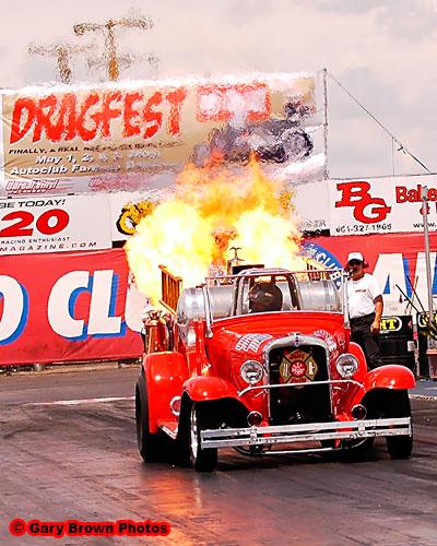 Exhibition Runs at Dragfest Auto Club Famoso Raceway - Drag List
