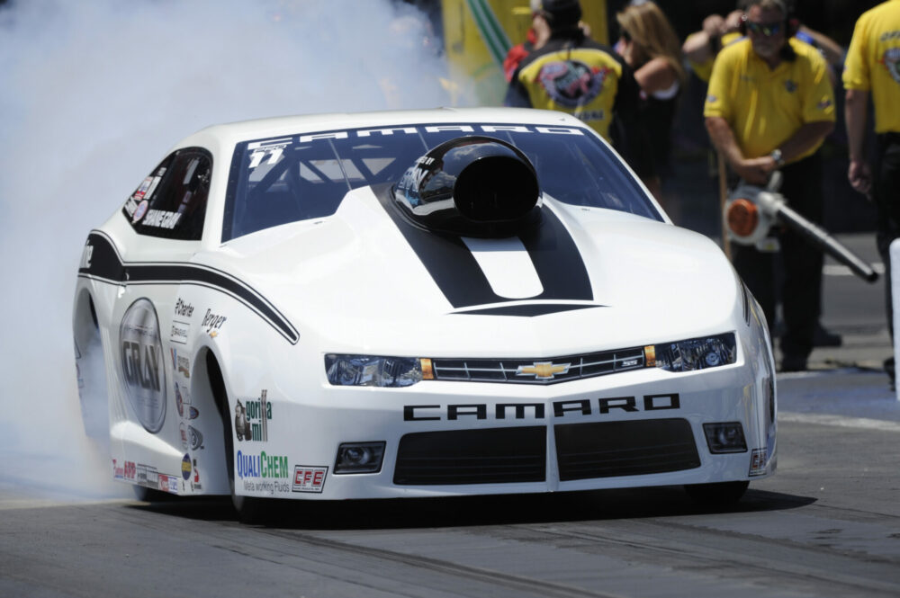Shane Gray Aiming For Consistency And First Pro Stock Win Of 2014 At