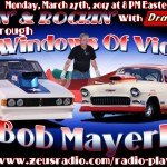 Racin' & Rockin' Radio: Bob Mayerle on March 27th!