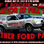 Racin' & Rockin' Radio:  Heather Ford Park on May 1st!