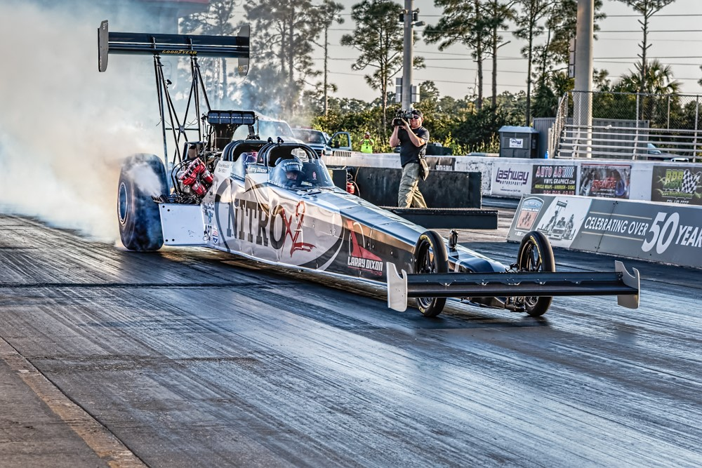 Larry Dixon Top Fuel Experience Gives \