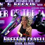 BreeAnn Covell is JB's Pick for Racer of the Week: December 18th!