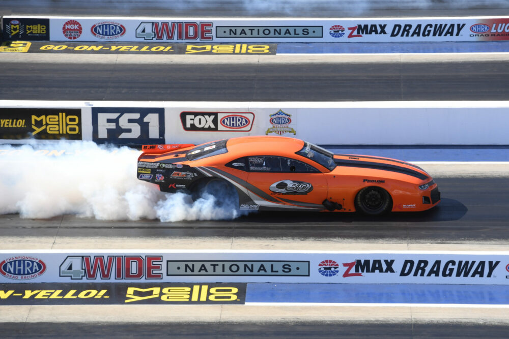 E3 SPARK PLUGS NHRA PRO MOD DRAG RACING SERIES NEWCOMER JOSE
