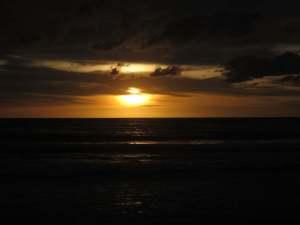 Sunset @ Patong Beach, June 2010