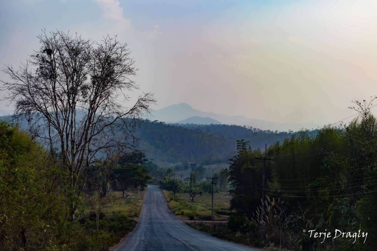 Rural road in Chiang Dao