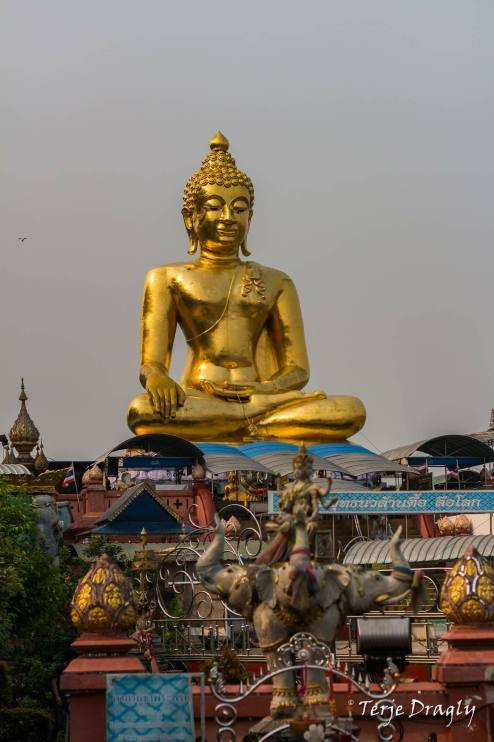 Buddha at the Golden Triangle