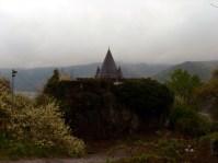 ein erster Blick auf die Burg
