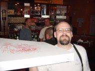 Pizza ist da