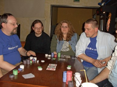 Poker-Turnier bei Schleicher