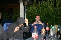 Scherbe und Elo, der nicht fotografiert werden will