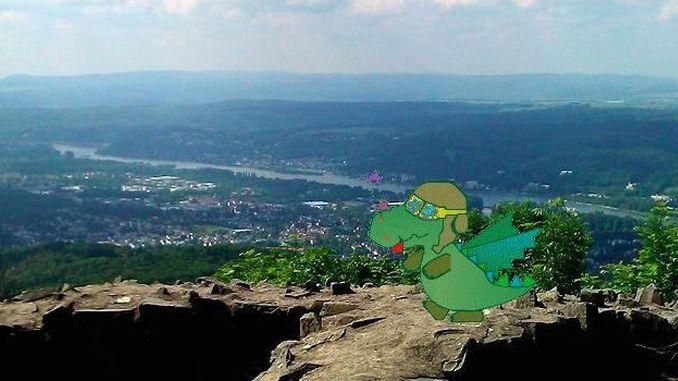 Cuentos del Siebengebirge, dragones