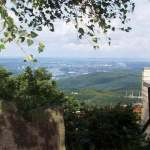 Vista del Ölberg hacia Bonn, Siebengebirge, Königswinter