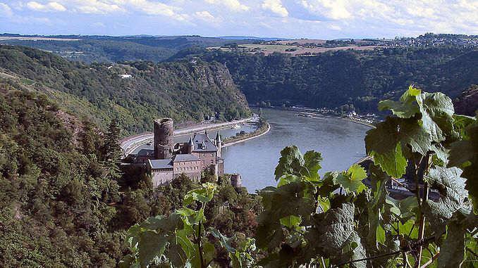 Château fort Katz, Rhin Moyen