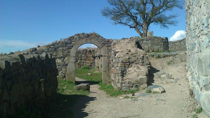 Ruine du château fort médiéval Löwenburg, Siebengebirge, Königswinter