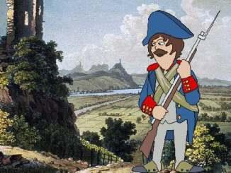 Siebengebirge histoire, temps de Napoléon