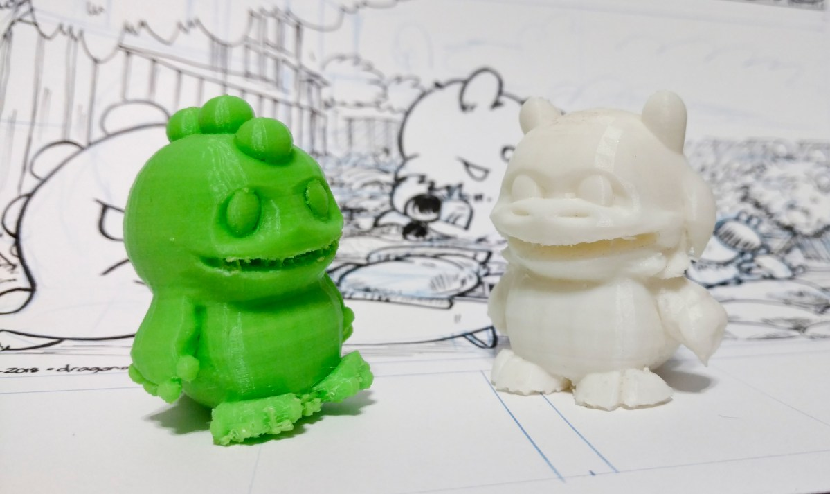 Cyber Monday: 3D Prints of Dragon and Goat on Sale