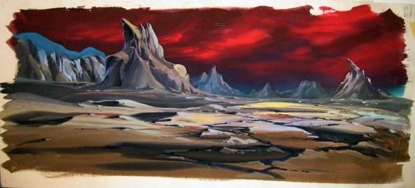 Planète Namek - background seul