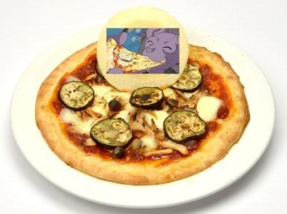 Une pizza Beerus