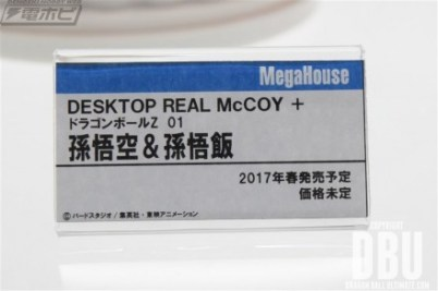 Desktop Real McCoy + Dragon Ball Z 01 : Son Gokū & Son Gohan