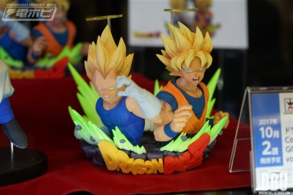 Dragon Ball Z : Com : Figuration Goku & Vegeta