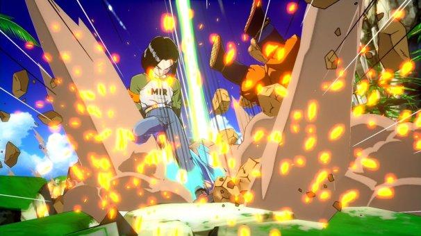 N°17 dans Dragon Ball FighterZ