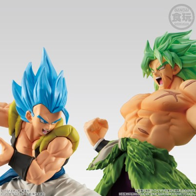 Gogeta SSGSS & Broly Super Saiyan (Full Power)