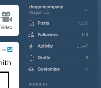 My followers are still low on Tumblr