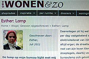 Publicatie van winnende column Dragonda.com op VBO Wonen & Zo