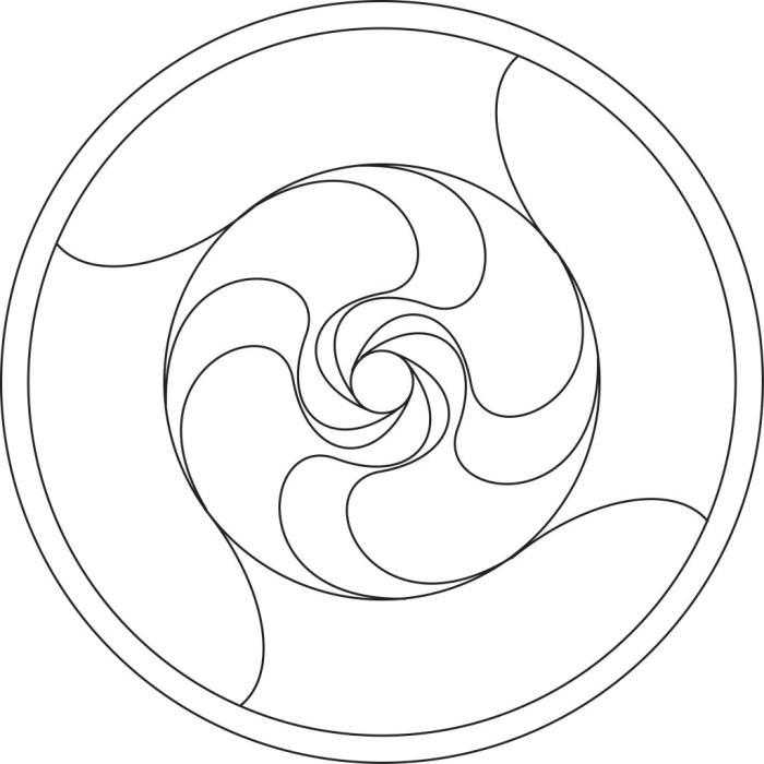 4-fold spiral