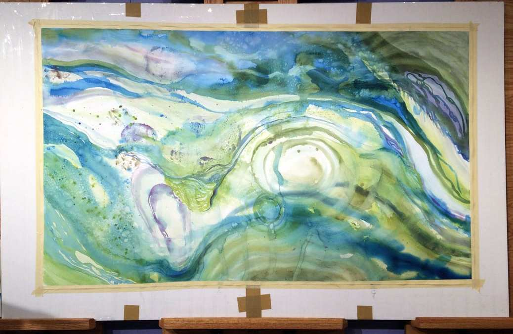 """Update on the """"Giant Painting"""""""
