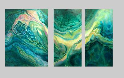 Second Large Triptych Completed!