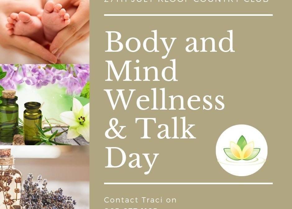 Body & Mind Wellness & Talk Day – 27 July